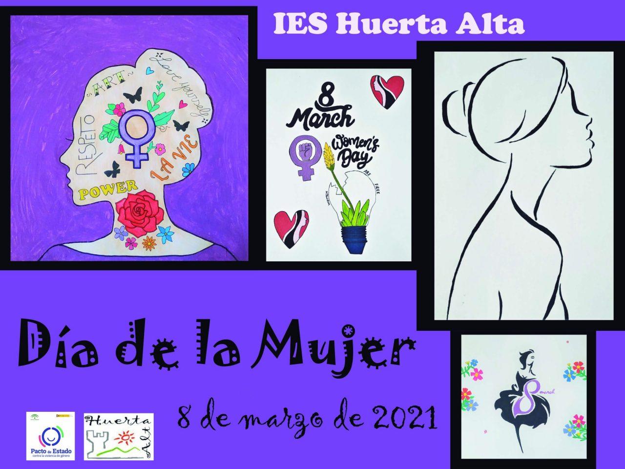 Día internacional de la Mujer en el IES Huerta Alta